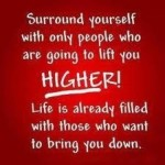 Lifting a person higher